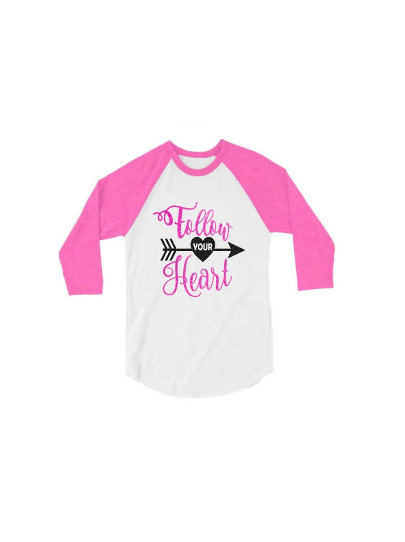 Paillettes de chemise de la Saint-Valentin   Suivez votre chemise coeur    Adultes   Jeunesse personnalisée e0afe0b3fc00