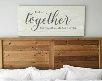 Bedroom Wall Art Over The Bed Etsy