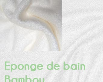 Bamboo bath terry soft and comfy (sold by meter) Oekotex certification