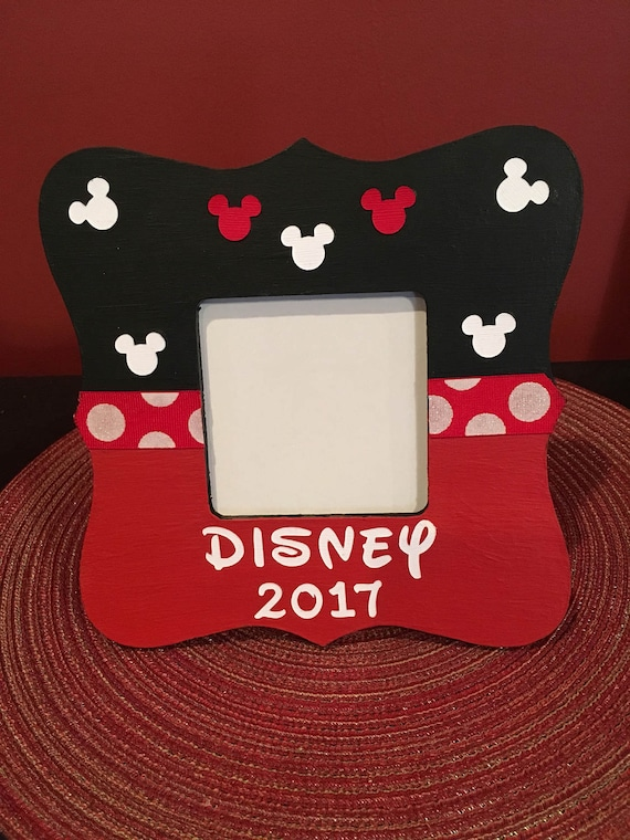 Disney Picture Frame, Disney Vacation Frame, Disney Memories, Minnie ...