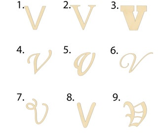Letter V Etsy Borrowed from middle french cursif, from medieval latin cursīvus, from latin cursus. letter v etsy