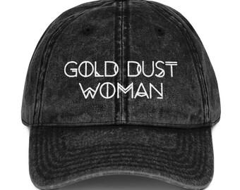 7d8ed5113a2 Gold Dust Woman Vintage Wash Cotton Twill Cap