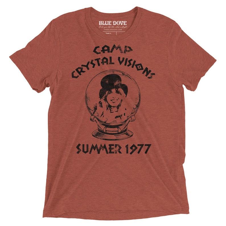 78a280b7a Stevie Nicks UNISEX Shirt Camp Crystal Visions Short Sleeve   Etsy