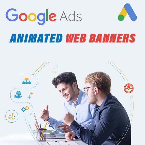 Google Ads Animated Web Banners For Advertising Etsy