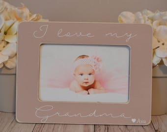 mother/'s day gift personalized picture frame Nana picture frame grandma frame custom picture frame Nana/'s blessings picture frame