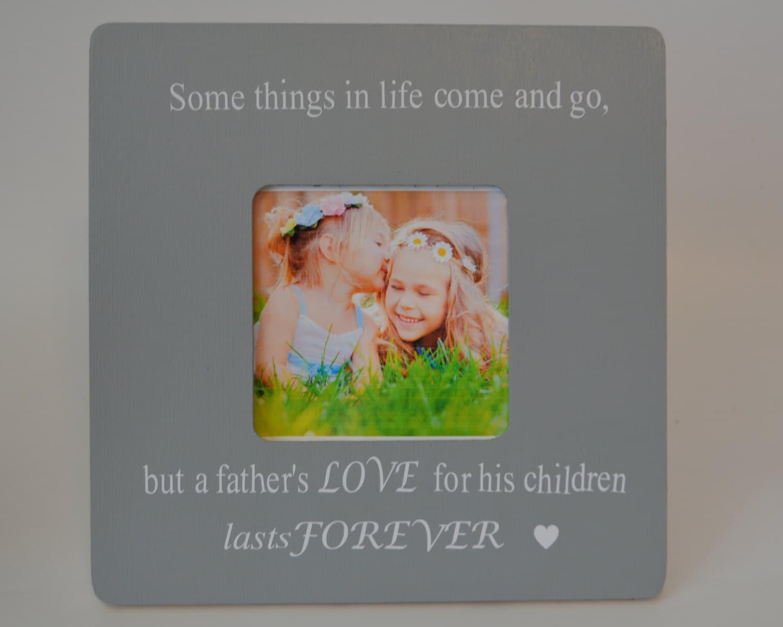 Padre Marco personalizado foto marco padre e hija bond cuadro marco ...