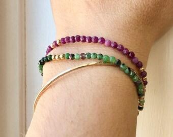 Bracelet • Gem Stack