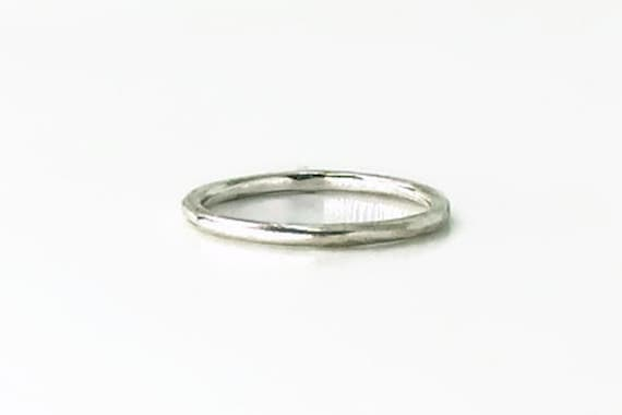Sterling Silver 925 Twisted Wedding Band Rope Ring Stacking Ring All Sizes