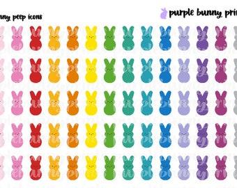Bunny Peep Icons // Planner Stickers!