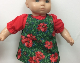 62c71ebf0e Outfit fits American Girl Bitty baby Cotton jumper and blouse