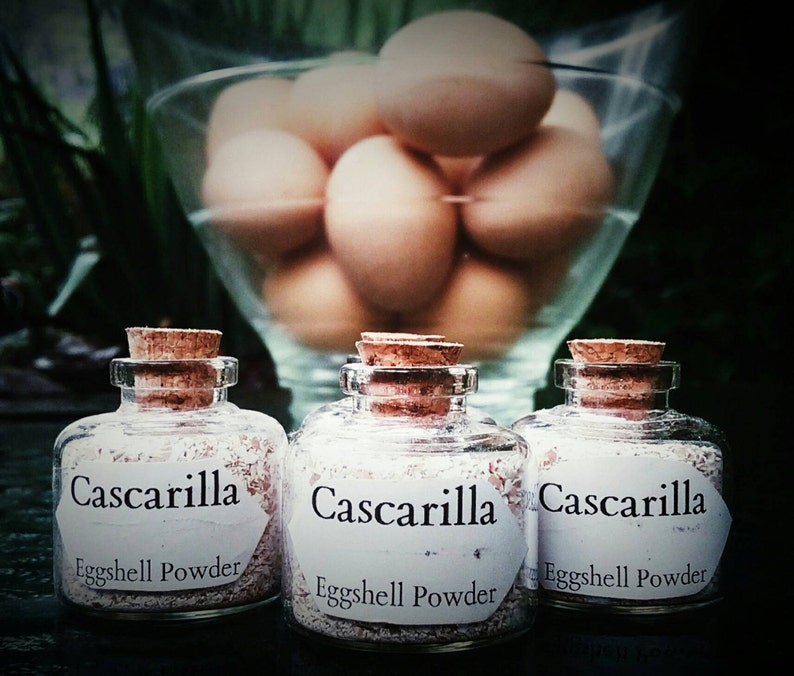 Cascarilla Powder - Law Keep Away Ritual Powder- Santeria - Wiccan - Pagan  - Witchcraft - Protection Magick