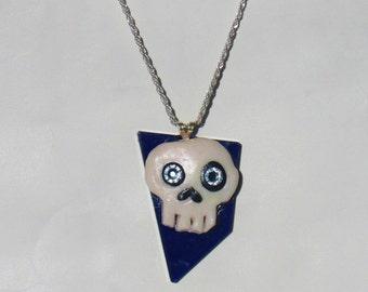 Swarovski embellished Skull necklace