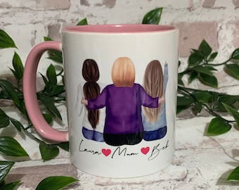 Mother's Day Gift, Mother and Daughter Mug, Mum and Daughter Mug, Mom mug, Mum mug