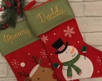 Personalised Christmas Stocking, Christmas Stocking, Personalized Stocking, Personalized Christmas Stocking, Personalised Stocking