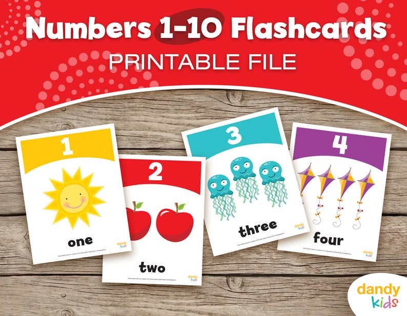 picture about Printable Numbers 1 10 Flashcards referred to as Quantity Flashcards / Printable Flashcards / Quantities 1-10 / Insightful Flashcards