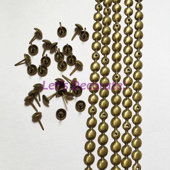 1meters 9 5mm Brass Plated Decorative Nail Strip Nailing Etsy