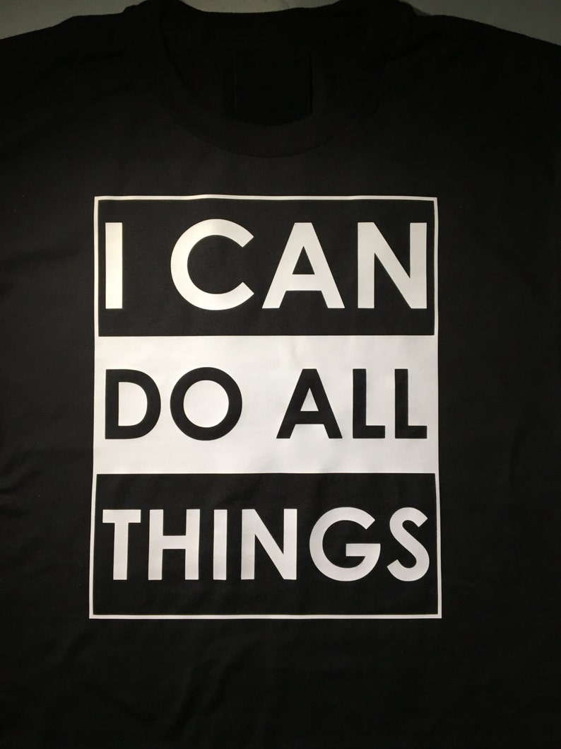 the best attitude c1937 c36ad I Can Do All Things/ Stephen Curry Shirt