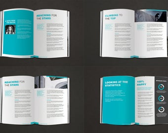 Ebook Template | Diy 18 Page Ebook Template No Photoshop Required Diy Ebook Etsy