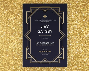 gatsby template etsy