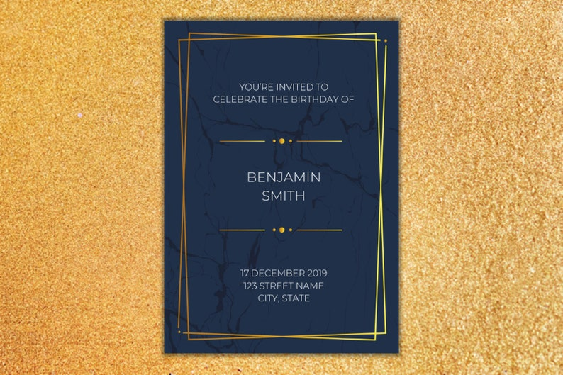 DIY Invitation Template