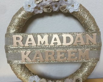 Ramadan Wreath Decor