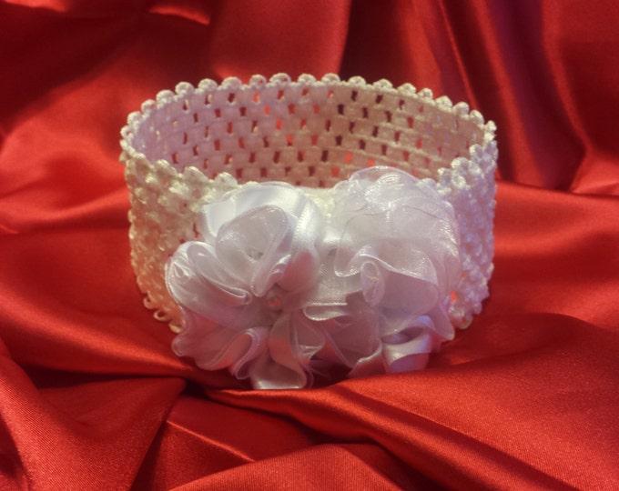 Baby Girls Princess Wedding White Headband