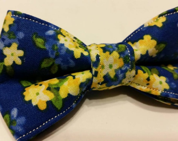 Boys Vintage Royal Blue Bowtie