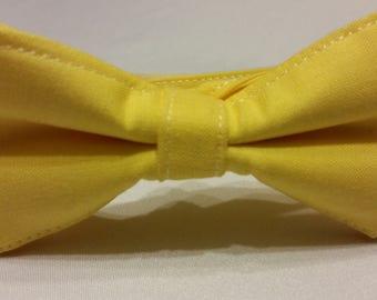 Boys Pencil Yellow Bowtie