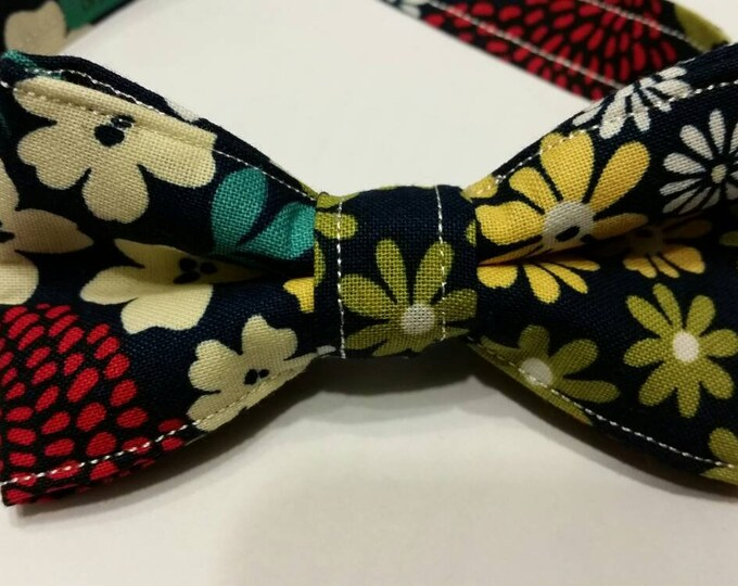 Boys Vintage Colorful Bowtie