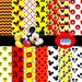 Maria cecilia reviewed Mickey Party Digital Paper Kit / Mickey Digital Papers Clipart