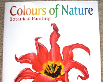 Sandrine Maugy- Book 'Colours of Nature' - signed by the author with personalised message