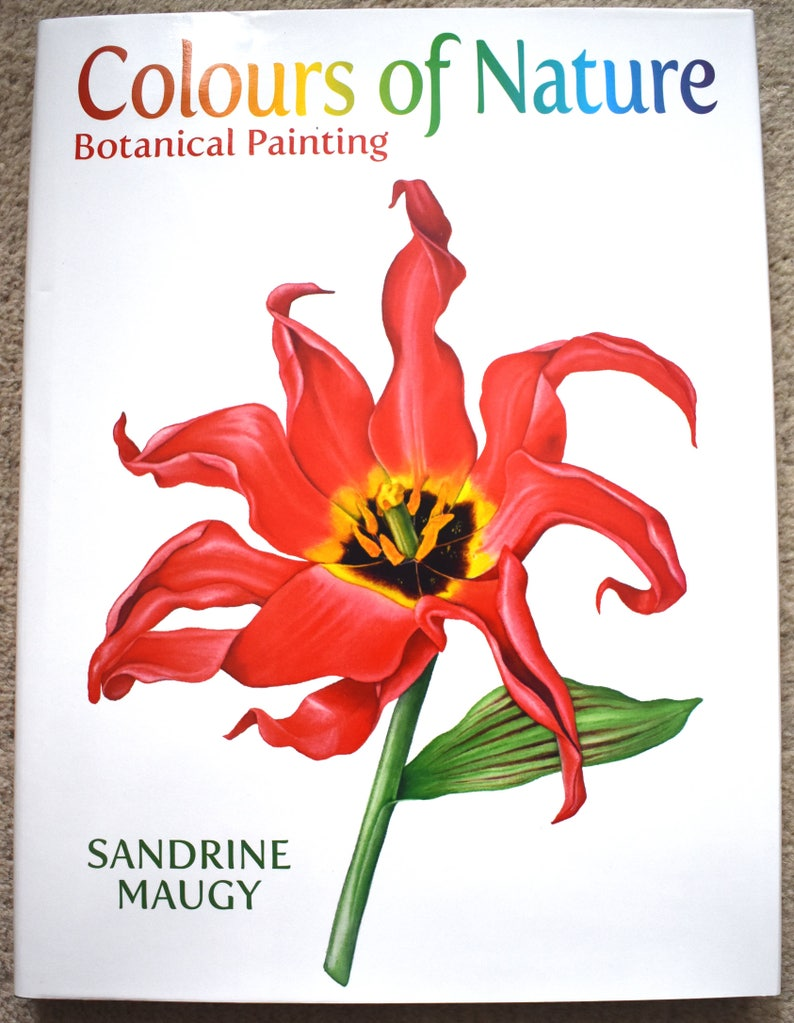 Sandrine Maugy Book 'Colours of Nature'  signed by image 0