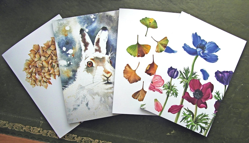 A5 notebooks /sketchbooks/journals by Sandrine Maugy Recycled image 0