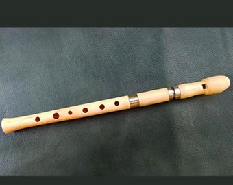 D Wooden Whistle