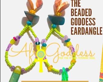 The Beaded Goddess Eardangle