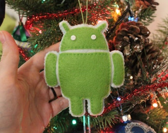 Android Felt Ornament