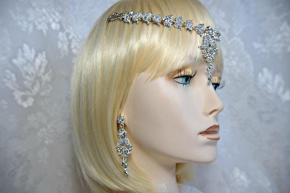 GODDESS HEADPIECE 3Piece Gatsby Headpiece Flapper