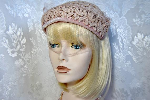 Victorian headpiece Juliet headpiece, Dusty Rose P