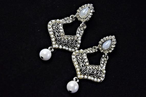 ART DECO earrings Gatsby earrings PEARL Earrings 1
