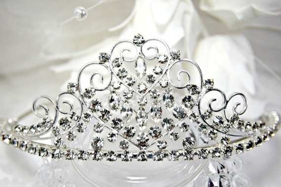 WEDDING TIARA 3 Piece, Bridal Tiara Crystal Tiara