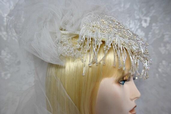 VINTAGE Wedding Headpiece GATSBY STYLE Vintage Art