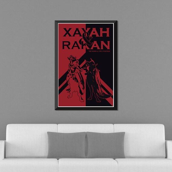 Print A4 Xayah
