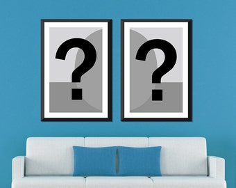Mix and Match: Any Two Half Portrait Posters