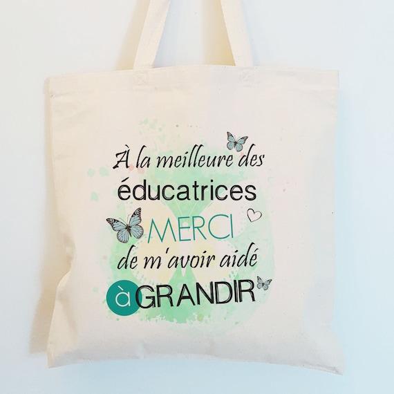 Lisa Ann Tote Sac shopping coton beige naturel Shopping Bag cadeau