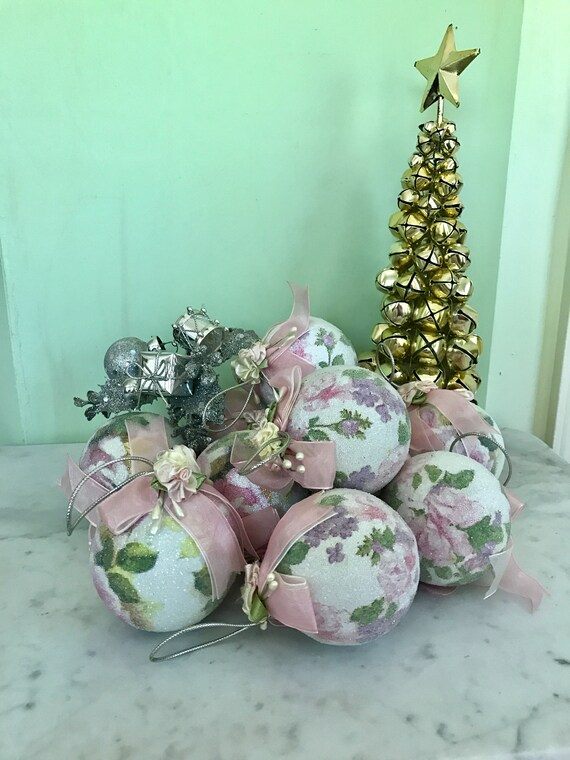 image 0 - Pastel Green Christmas Decorations