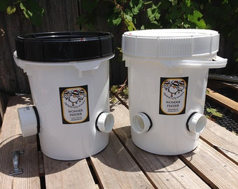 Poop-Free  Feeders for Backyard Chickens