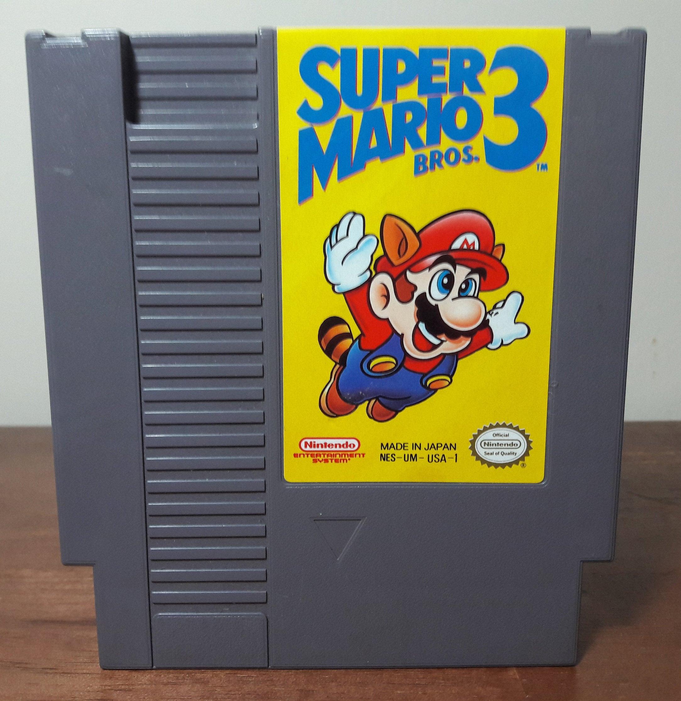 Super Mario Bros 3 Nes Vintage Nintendo Video Game 8 Bit 80s Etsy