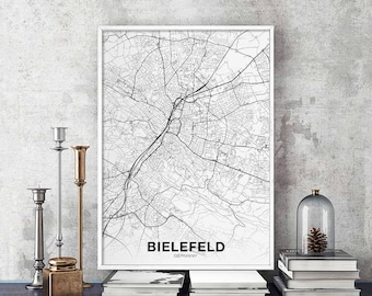CAGLIARI Italy map poster black white Hometown City Print Modern Home Decor Office Decoration Wall Art Dorm Bedroom Gift