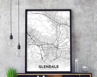 Glendale california | Etsy
