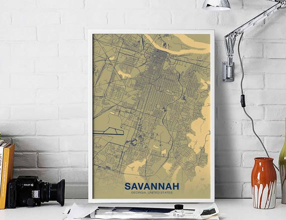 SAVANNAH Georgia GA US map poster color wall decor design modern motto on crime map savannah ga, zip code savannah ga, us map savannah ga, tourist map savannah ga, atlas map savannah ga, weather map savannah ga, city savannah ga, street map savannah ga, georgia savannah ga,